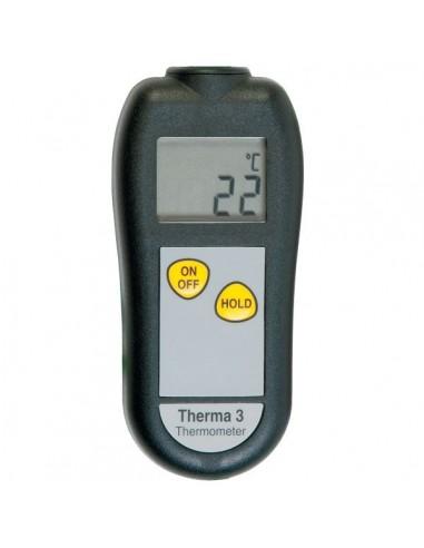 Termometr z gniazdem sondy termoparowej typ K