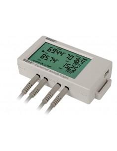 4-kanałowy rejestrator temperatury i sygnałów 4-20mA/0-10V Onset HOBO UX120-006M
