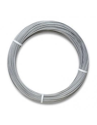 Linka stalowa w osłonie teflonowej, długość: 90m