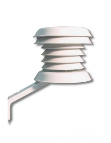 Osłona przeciw promieniowaniu słonecznemu z możliwością instalacji na maszcie trójnożnym.