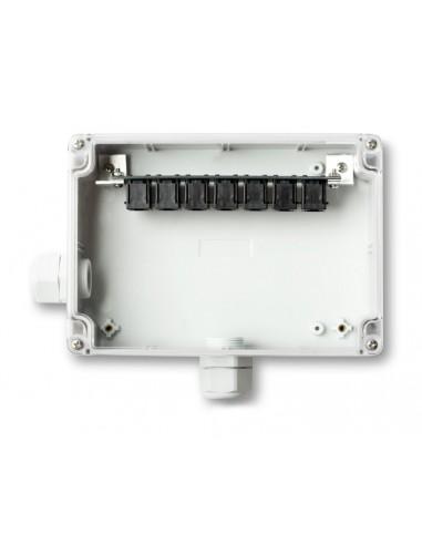 Moduł umieszczony w wodoodpornej obudowie, umożliwiający podłączenie do 6 dodatkowych czujników