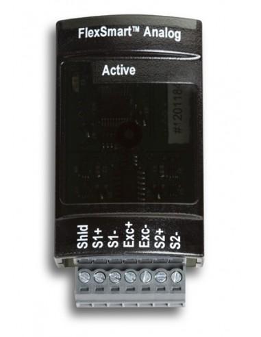 12-bitowy moduł FlexSmart z wejściami analogowymi (napięciowymi i prądowym), do stosowania z rejestratorem H22-001