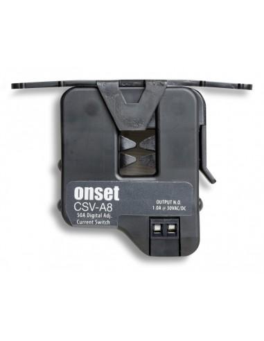 Czujnik przepływu prądu z wyjściem stykowym Onset CSV-A8