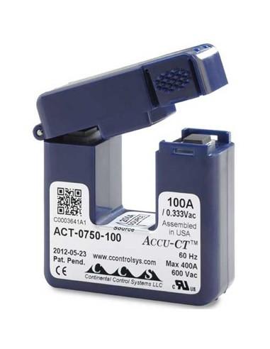 Transformator prądu zmiennego 0 … 100A z dzielonym rdzeniem