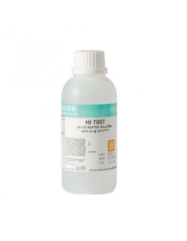 Roztwór buforowy pH 7.01 Hanna HI 7007M flakon 230 ml