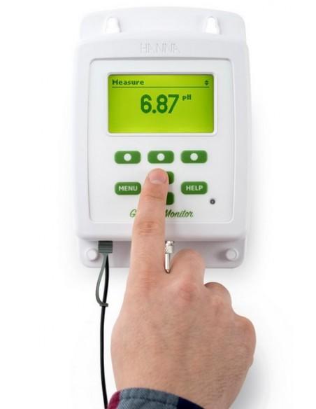 Miernik serii Groline Monitor do ciągłej kontroli pH/EC/TDS/T w hydroponicznych składnikach odżywczych