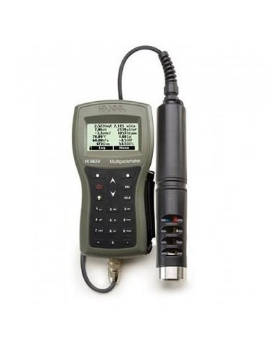 Wieloparametrowy miernik do badania jakości wody HANNA HI 9829