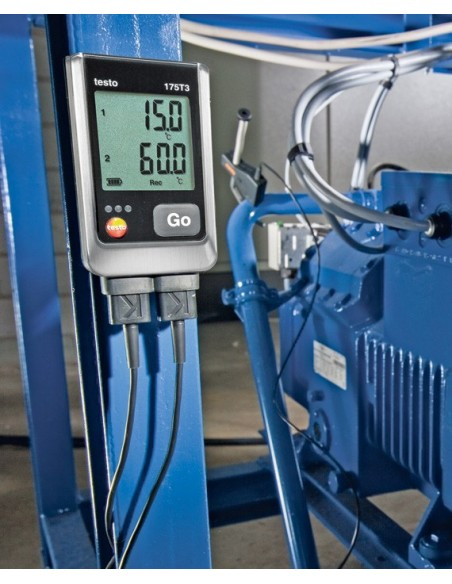 Rejestrator temperatury testo 175-T3