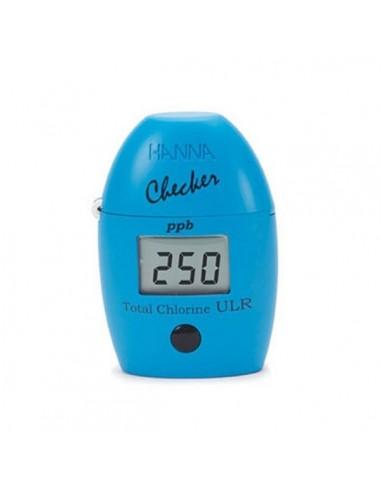 Mini fotometr do pomiaru śladów chloru ogólnego HI 761