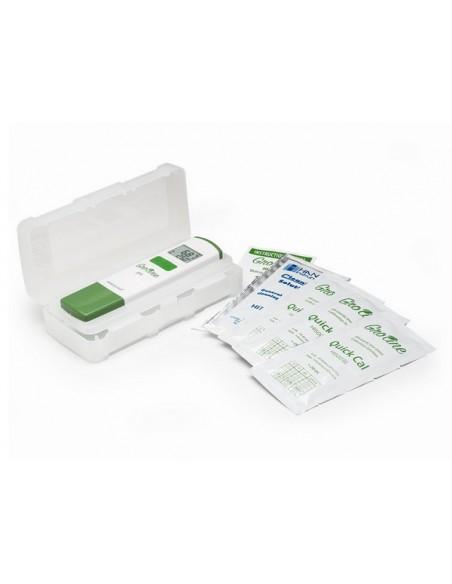 Tester pH/T GroLine w roztworach hydroponicznych