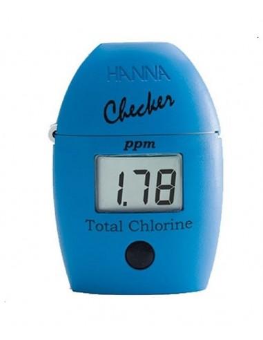 Mini fotometr do badania całkowitego chloru w wodzie HI 711