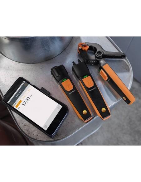SmartSondy współpracujące ze smartfonem lub tabletem, dla systemów grzewczych