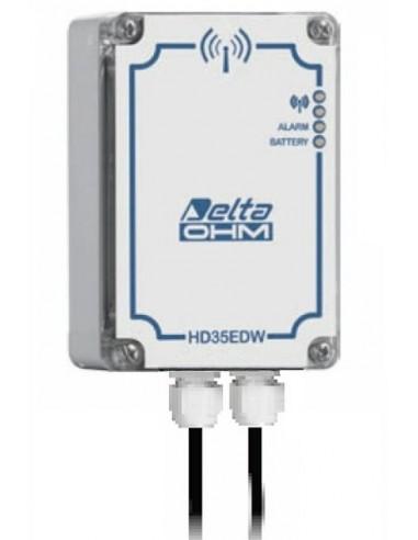 Rejestrator z 4 wejściami standardowych sygnałów prądowych, napięciowych i temperatury HD35EDWH