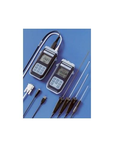 Precyzyjne termometry rejestrujące HD2107