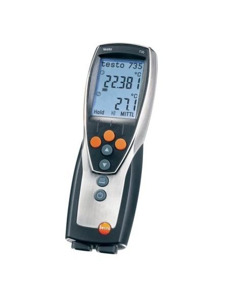 Termometr wielokanałowy testo 735