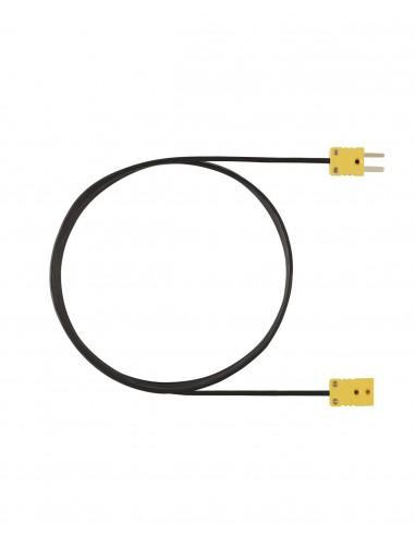 Kabel przedłużający, 5m, dla termopar Typ K