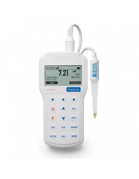 Miernik pH i temperatury, w wodoszczelnej obudowie o IP67