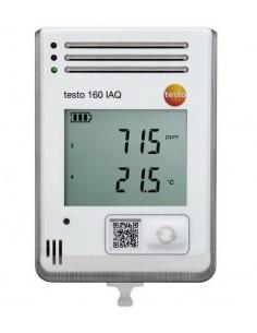 Rejestrator jakości powietrza testo 160 IAQ z czujnikami i wyświetlaczem