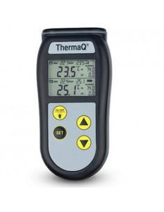 Dwukanałowy termometr ThermaQ do sond termoparowych typ K