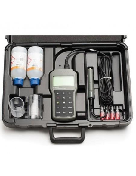Profesjonalny konduktometr HI 98192 - walizka transportowa z wyposażeniem