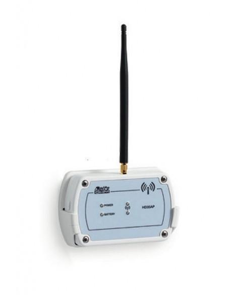 Moduł centralny z wyjściami USB, Wi-Fi i Ethernet do połączenia z lokalną siecią komputerową - HD35APW