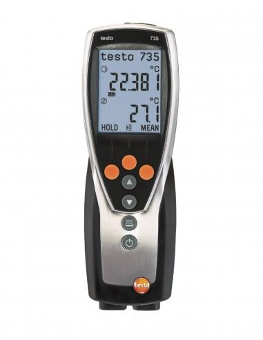 Termometr wielokanałowy testo 735-2