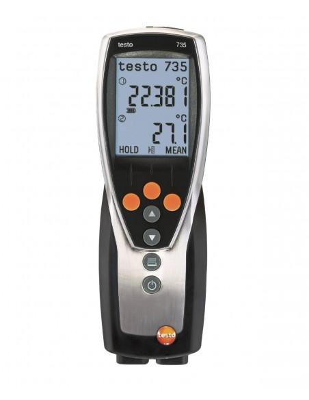 Termometr wielokanałowy testo 735-1