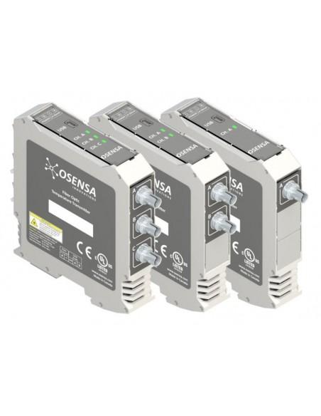 Przetworniki temperatury FTX-300/200/100-LUX+ współpracujące z czujnikami światłowodowymi