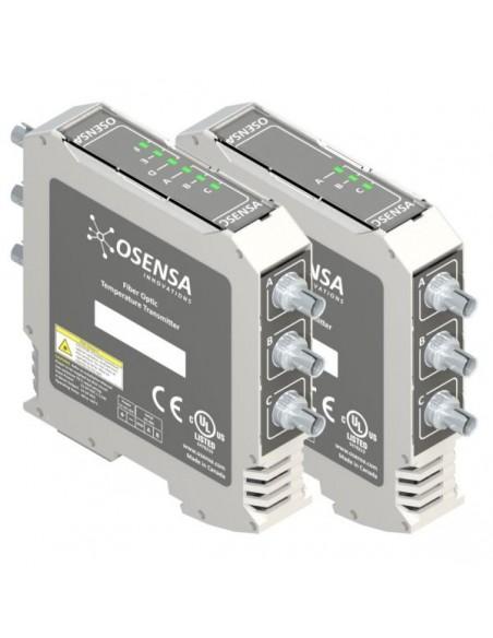 Przetworniki temperatury FTX-602/302-PWR współpracujące z czujnikami światłowodowymi