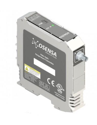 Przetwornik temperatury FTX-100-LUX+ współpracuje z sondami fluorescencyjnymi Luxtron™