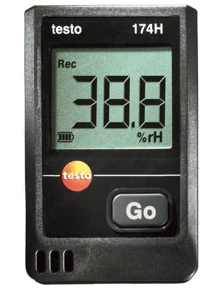 Rejestrator wilgotności i temperatury testo 174H - Zestaw