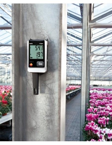 Rejestrator wilgotności i temperatury Testo 175-H1