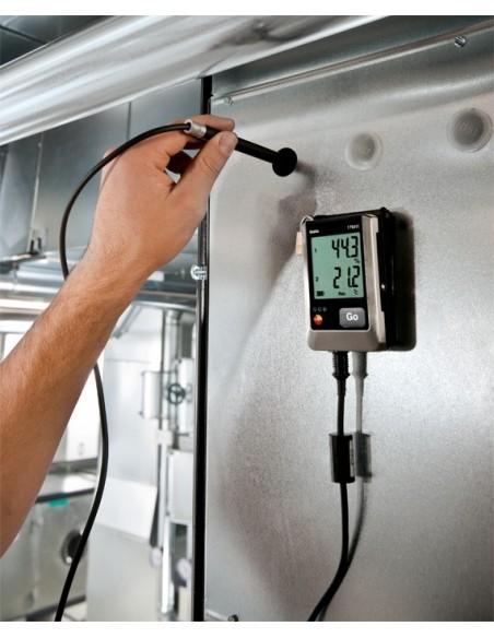 Rejestrator wilgotności i temperatury Testo 176‑H1