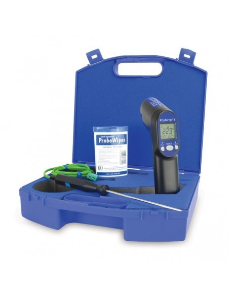 Zestaw RayTemp 8 z walizką, sondą penetracyjną 123-160 i ściereczkami antybakteryjnymi