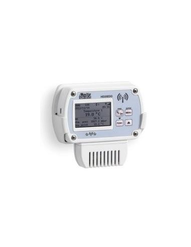 Rejestrator temperatury, wilgotności względnej, ciśnienia atmosferycznego, CO i CO2 z wyświetlaczem graficznym - HD35EDG 14bNAB