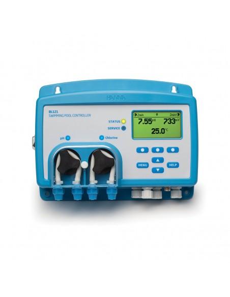Regulator BL121 do kontroli jakości wody w basenach i SPA