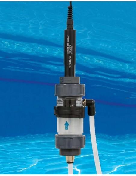 Wieloparametrowa sonda pH/ORP/Temp. z komorą przepływową