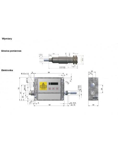 Pirometr stacjonarny optris CTratio 1M
