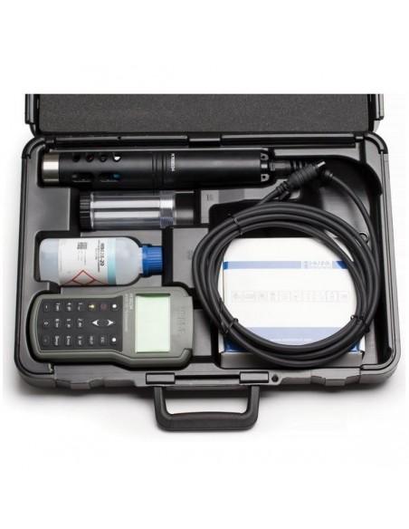 Profesjonalny, wieloparametrowy miernik HI 98196 - walizka transportowa z wyposażeniem