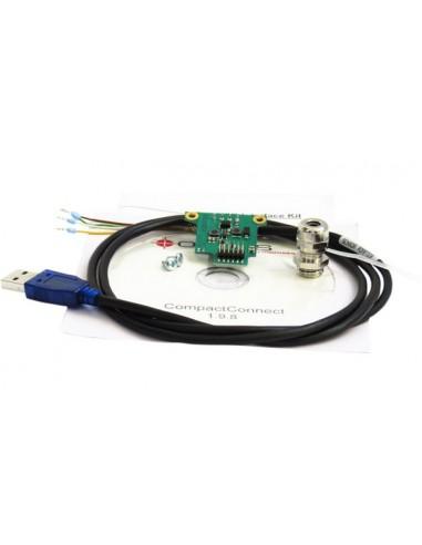 Interfejs USB w zestawie z oprogramowaniem CompactConnect