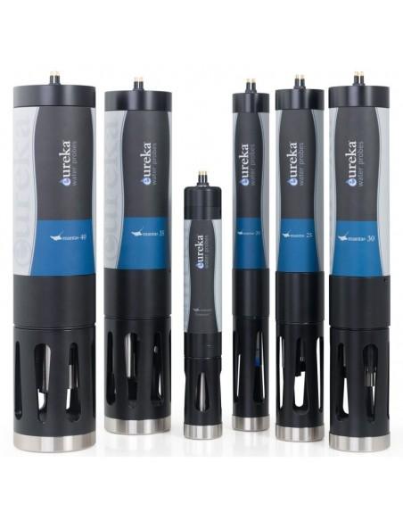 Rodzina wieloparametrowych sond jakości wody firmy Eureka