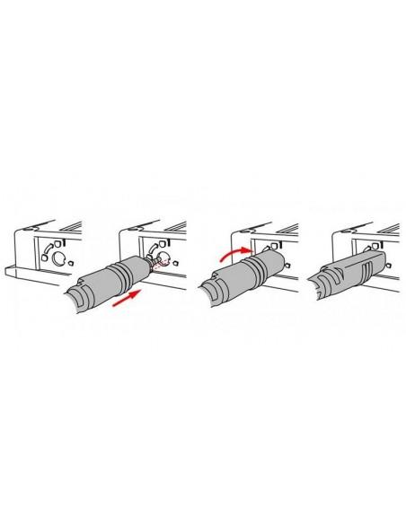 Wejście do rejestratora czujników samookreślający przekładników prądowych