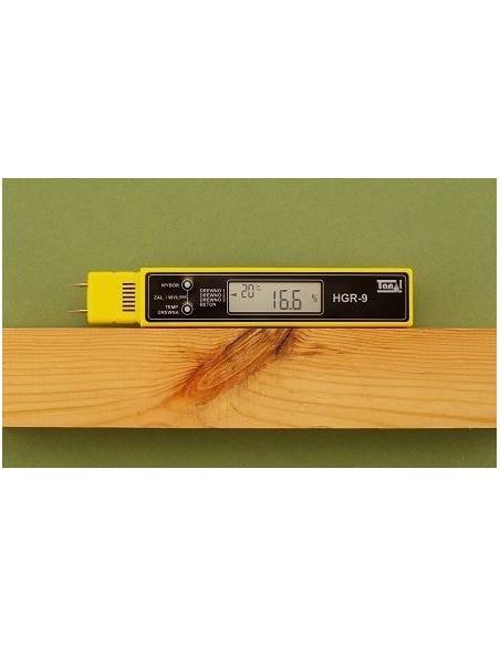 Kieszonkowy miernik wilgotności drewna i betonu HGR-9