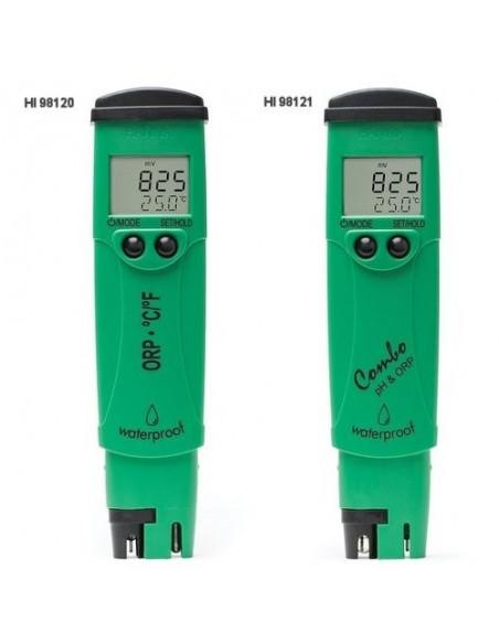Kieszonkowe mierniki pH, ORP i temperatury HI 98120 i HI 98121