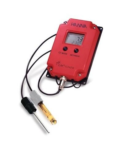 Wodoszczelny pH-metr naścienny dla plantatorów Hanna HI 991401