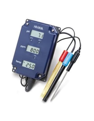 Naścienny miernik pH, TDS i temperatury Hanna HI 981504