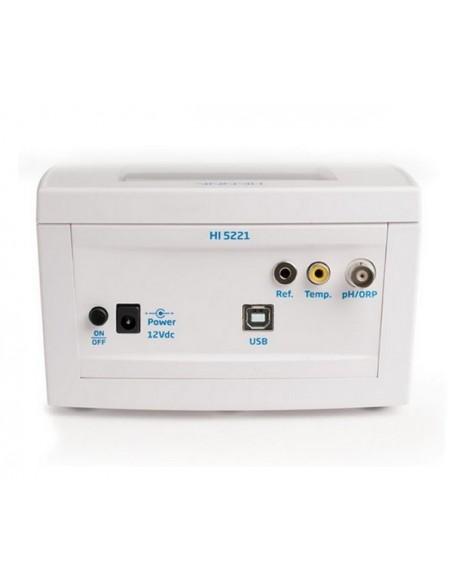 Laboratoryjny miernik pH/ORP HI 5221