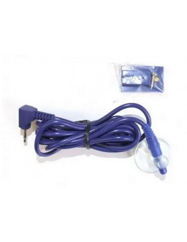 Silikonowa sonda temperatury, kablowa (dł. 1,5 m) do termometru EcoTemp