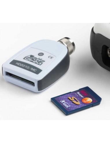 Moduł rejestracji danych na karcie pamięci MMC lub SD, z kartą 1MB