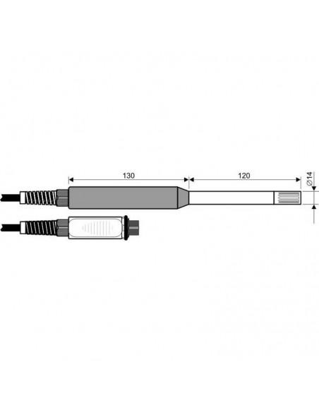 Sonda temperatury i wilgotności HP473ACR